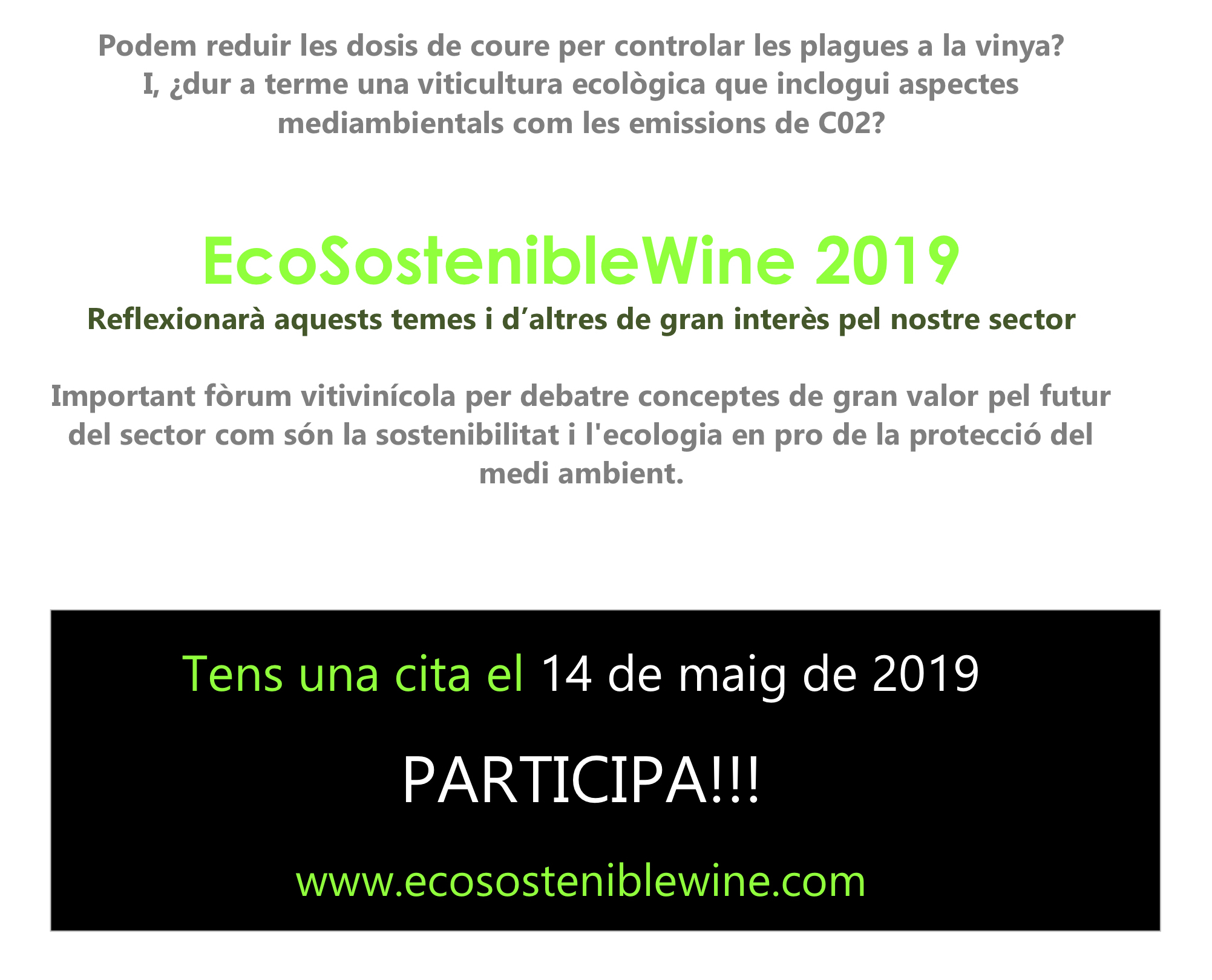 SAVE THE DATE ESW GENER 2019 cat WEB